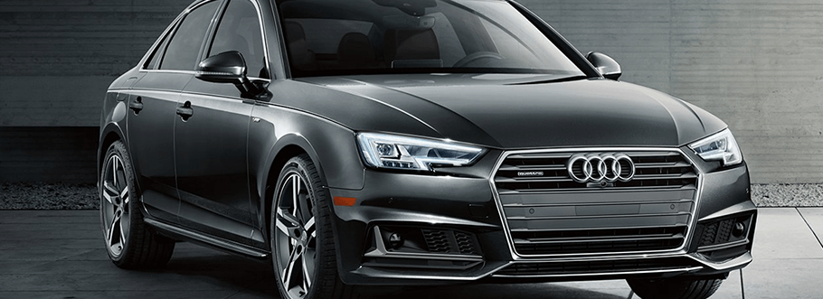 2018 Audi A4 in grey - hover for interior image