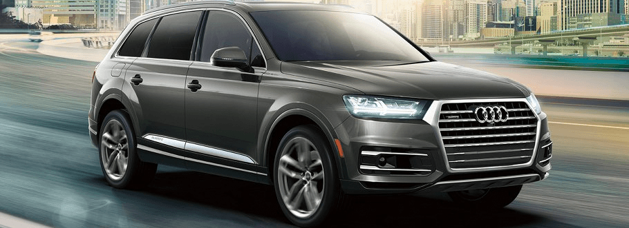 2018 Audi Q7 in grey - hover for interior image