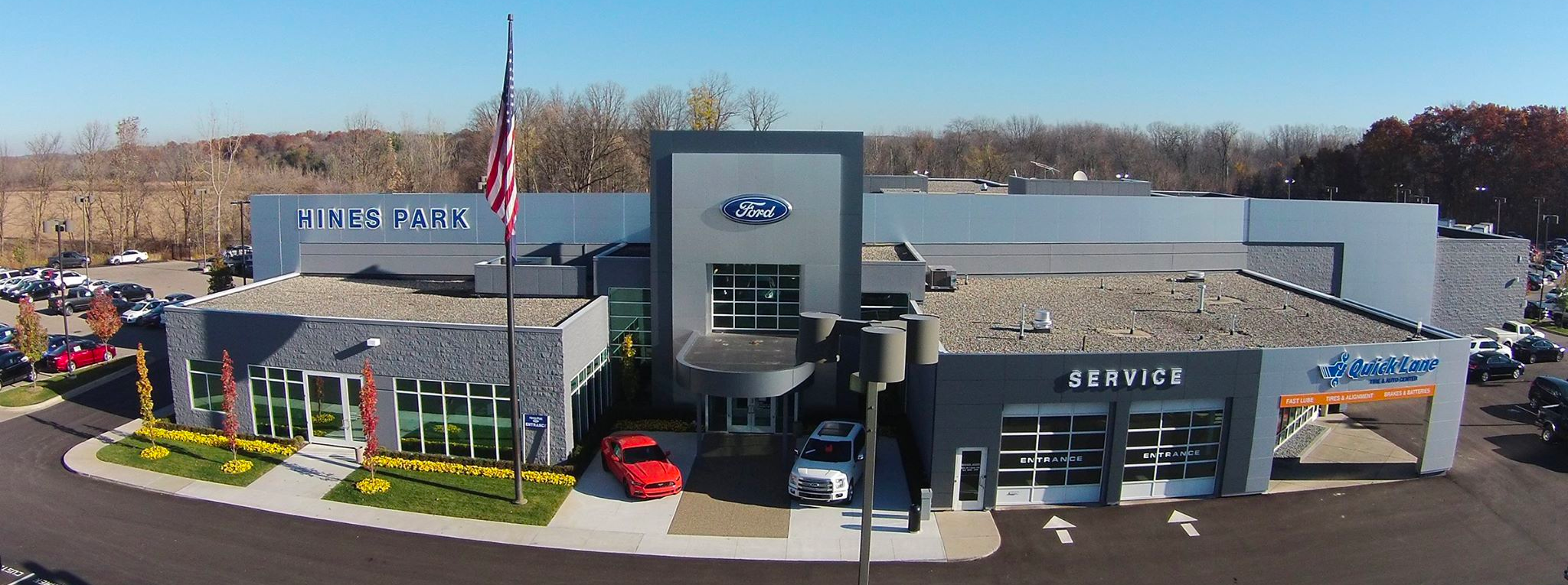 Hines Park Ford in New Hudson, MI