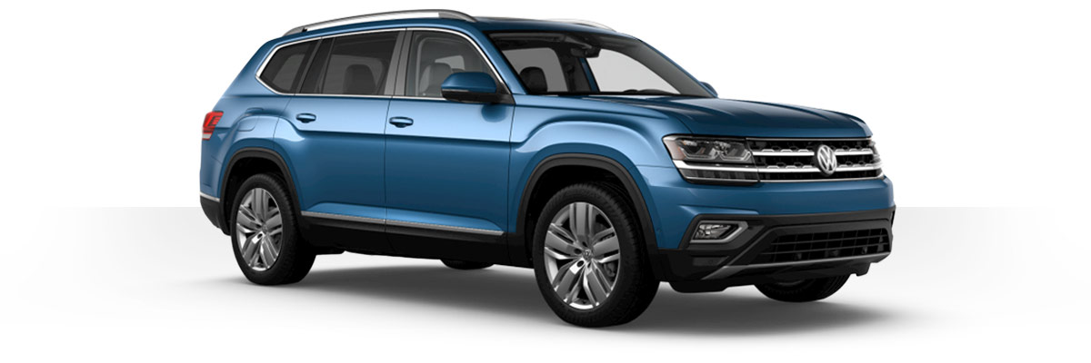The 2019 Volkswagen Atlas Exterior