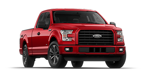 2017 Ford F-150 Red Supercrew