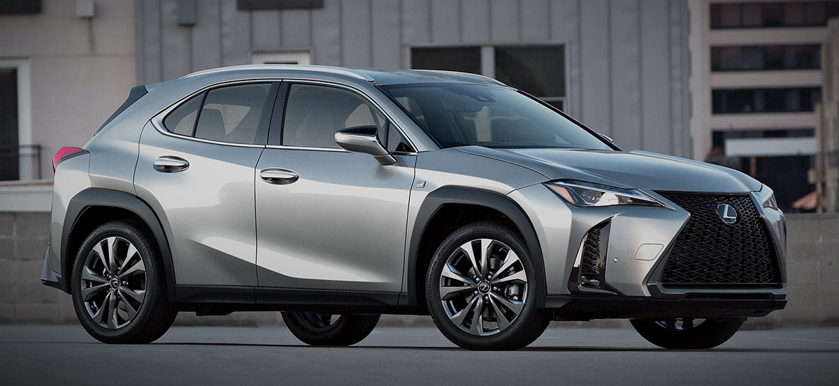 The 2019 Lexus UX header