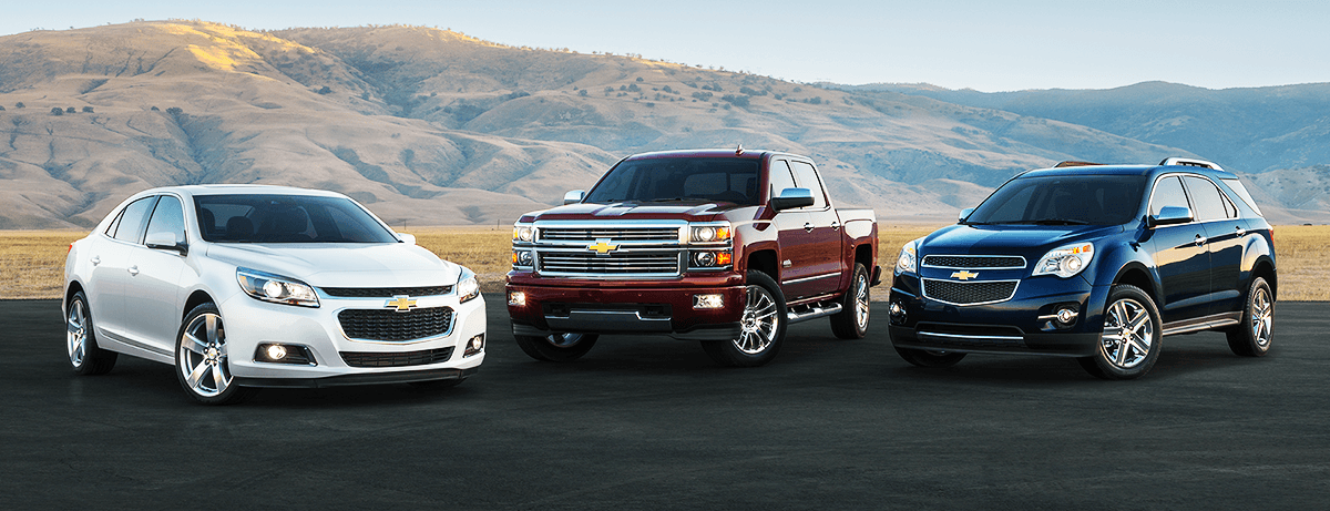Buying vs. Leasing A New Chevrolet. Chevrolet lineup.