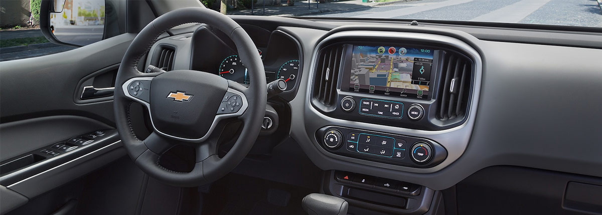 2018 Chevrolet colorado Gray interior