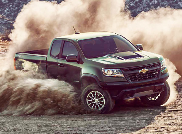2018 Chevrolet colorado green performance