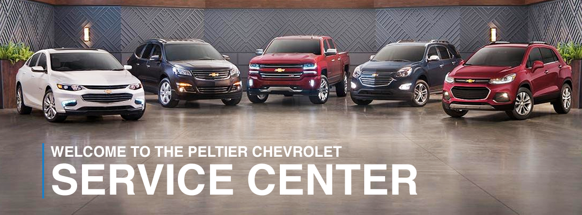 Welcome to the Peltier Chevrolet Service Center!