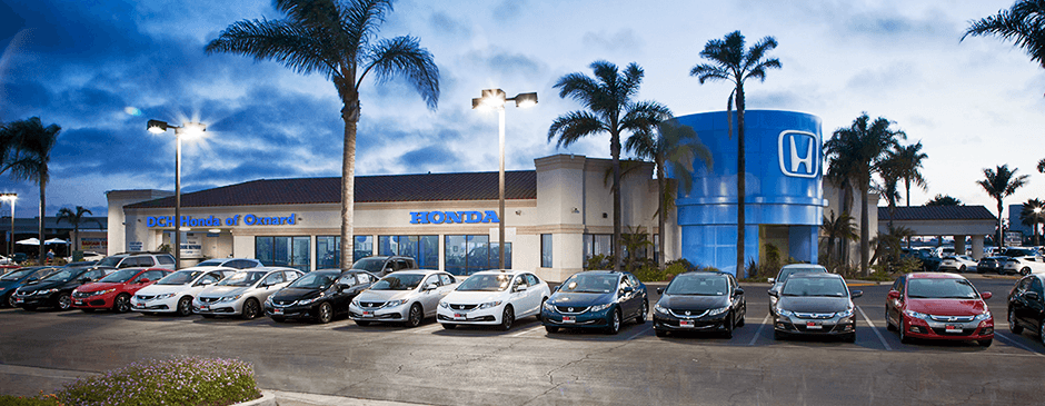 DCH Honda of Oxnard dealership subheader