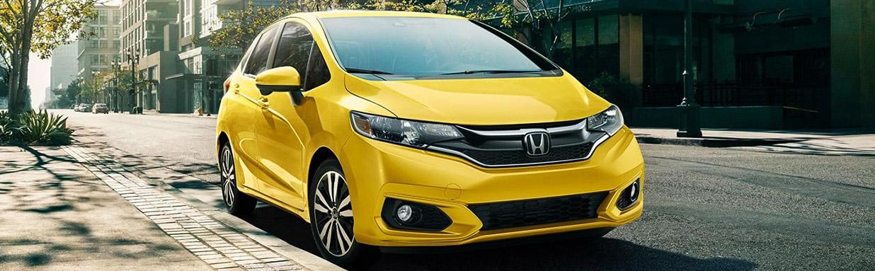 2017 Honda FIT EX-L NAVI Yellow
