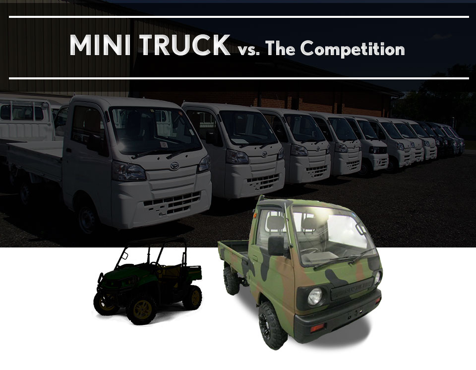 Mini-Truck Comparison | Buy a New Suzuki or Honda Mini Truck