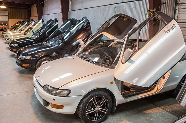 Duncan Imports - TOYOTA SERA - Hatchback Models - classic cars