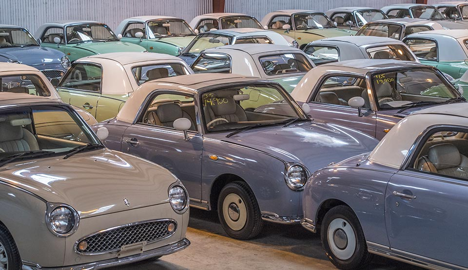 Duncan Imports - Nissan Figaro - classic cars