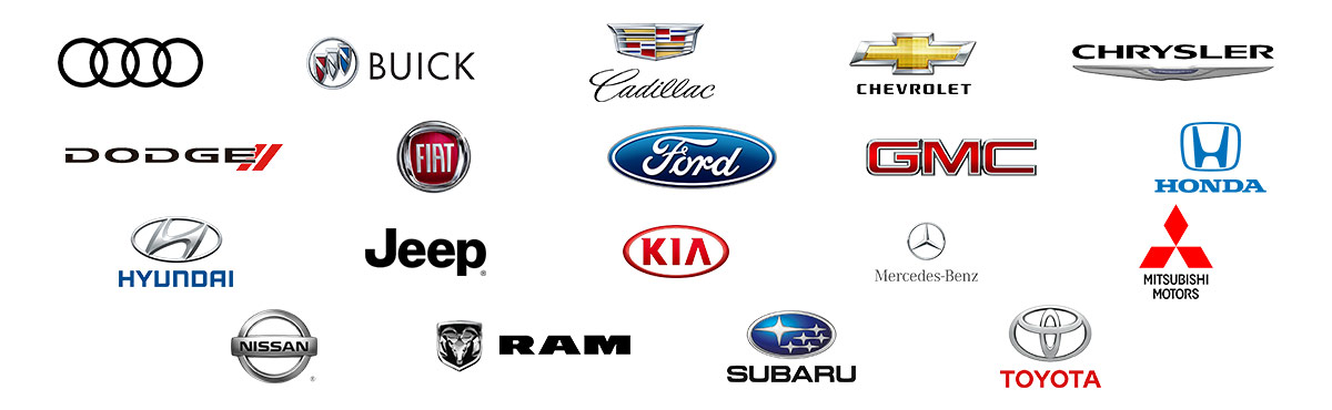 BUYING USED AT DIEPHOLZ AUTO Logos Banner