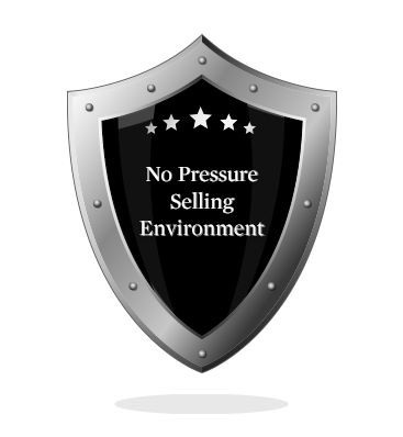No Pressure Selling Environment