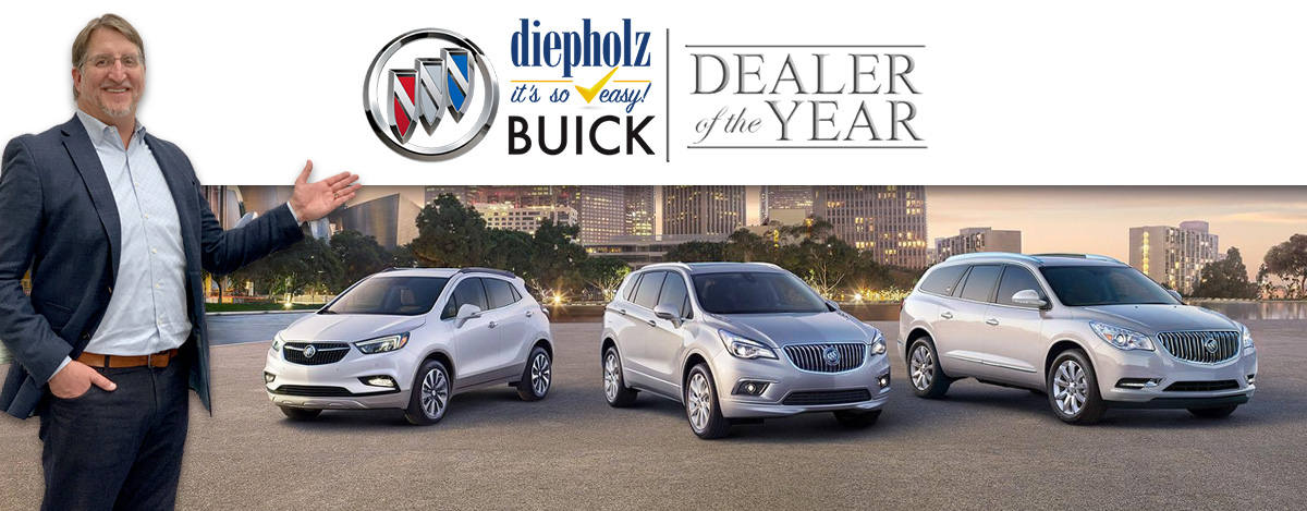We are proud to announce that Diepholz Auto Group has received the 2019 Dealer of the Year Award!