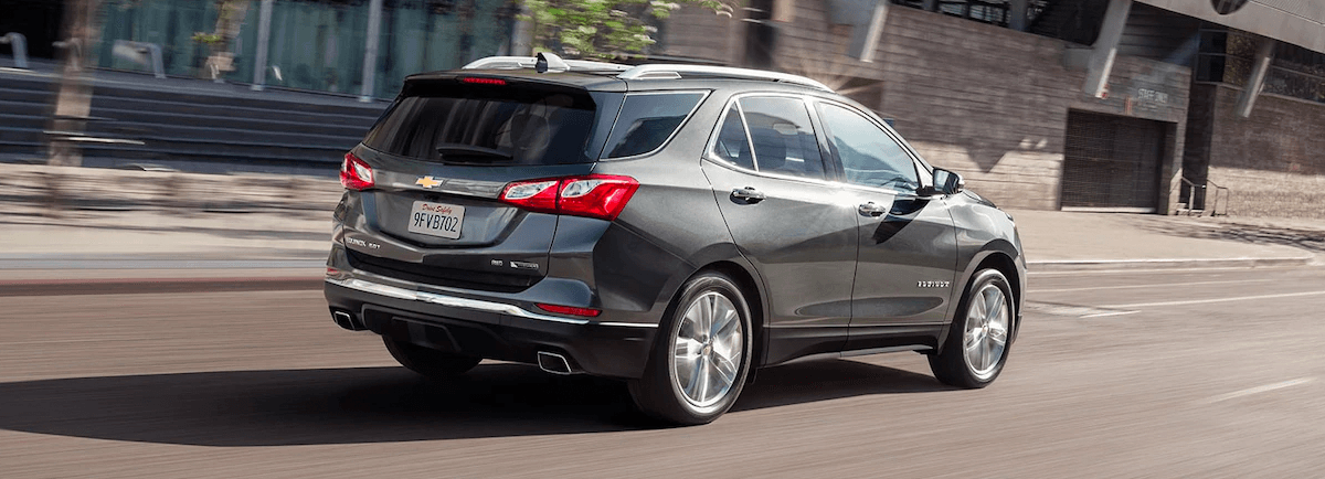 2018 Chevy Equinox rear view exterior