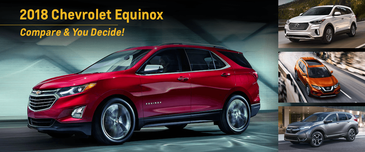 THE 2018 Chevy Equinox SHOP THE BETTER SEDAN