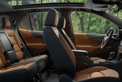 2018 Chevy Equinox - interior