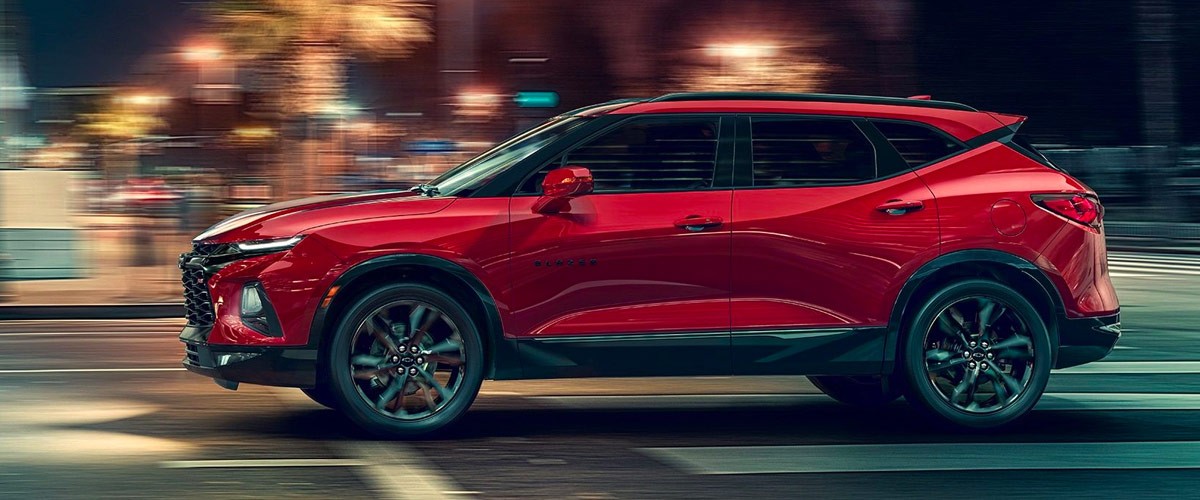 2019 Chevy Blazer header