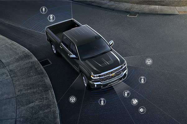 2018 Chevy Silverado Safety Features