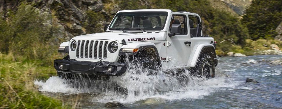 2018 Jeep Wrangler Rubicon White