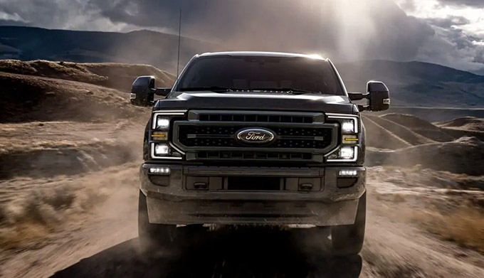 2020 Ford Superduty front view