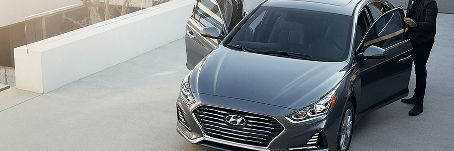 The New 2018 Hyundai Sonata.