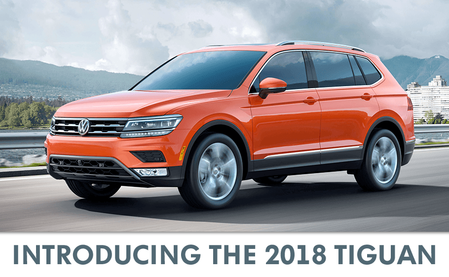 Lease a New 2018 Volkswagen Tiguan | VW Dealer near Albany, NY