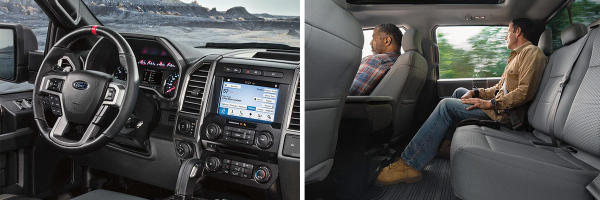 2018 Ford F-150 Interior & Exterior Amenities