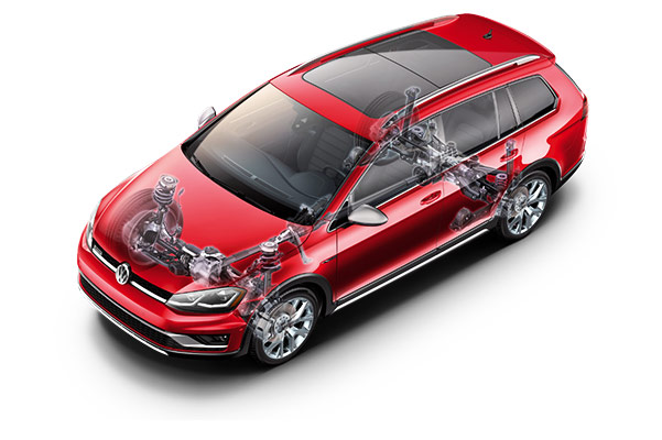 2018 Volkswagen Golf Alltrack Safety