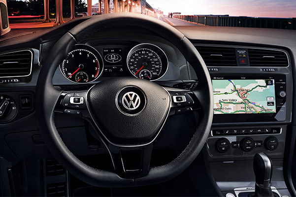2018 VW Golf Alltrack Interior