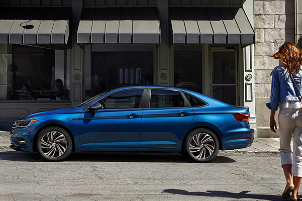 2019 Jetta Exterior Side Qualified customers earn a $750 Loyalty Bonus on a new 2019 Jetta!