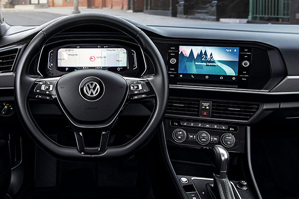 2019 Volkswagen Jetta Interior & Tech Features