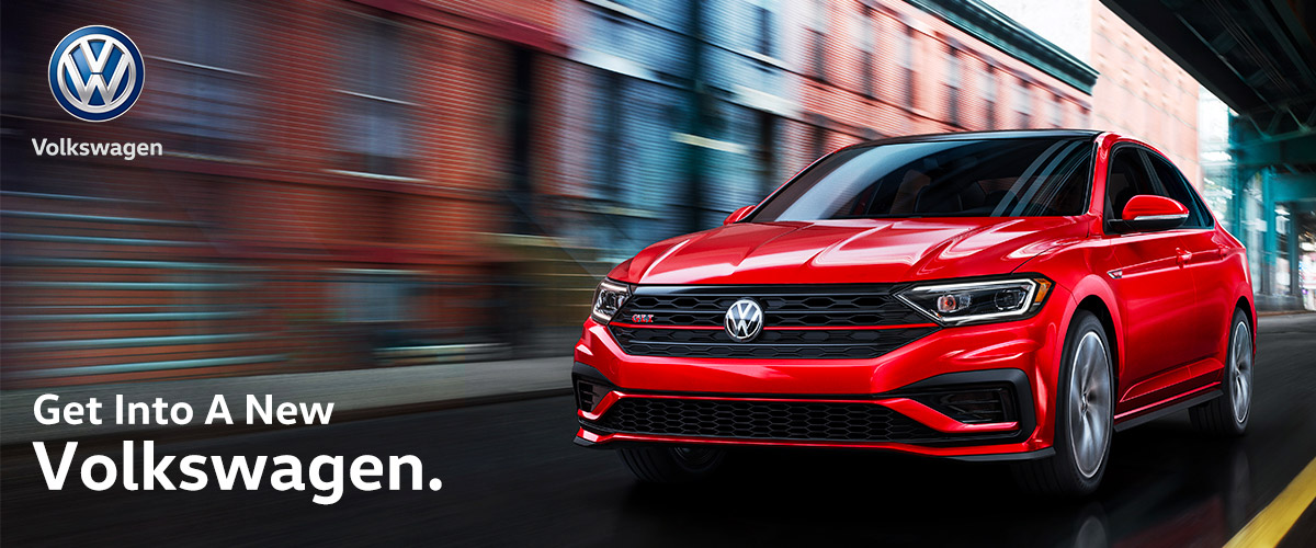 Get Into A New Volkswagen Header