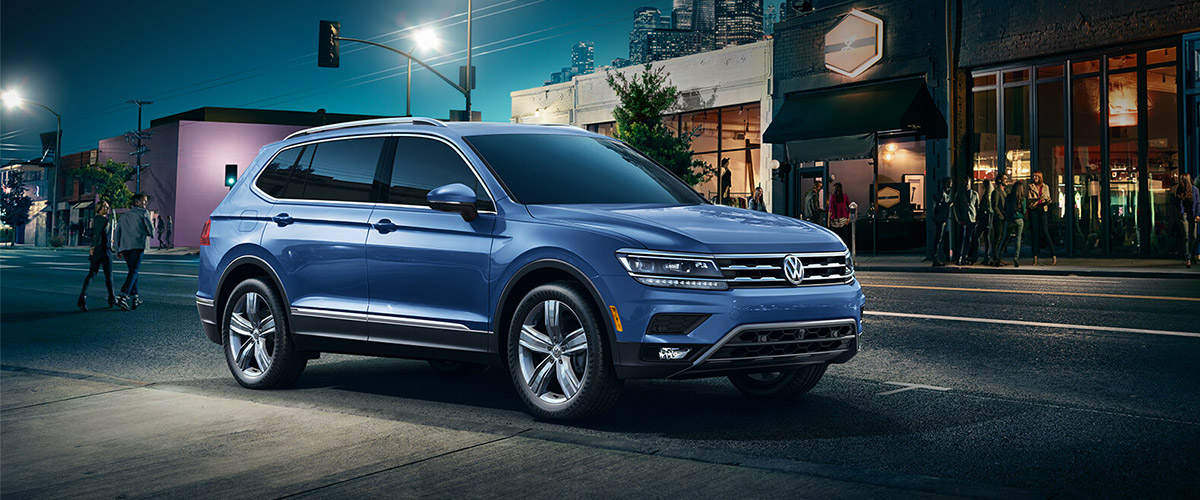 The 2019 Volkswagen Tiguan. Header