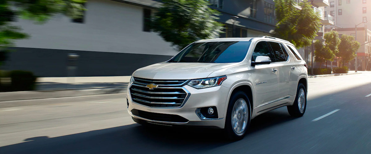 2019 Chevrolet Traverse Header