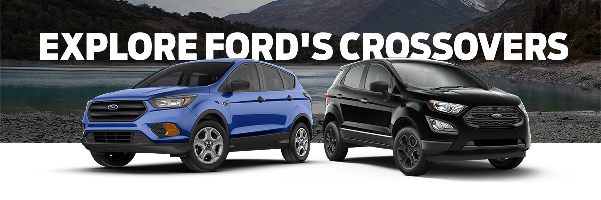 2018 Ford Escape and 2018 Ford Ecosport
