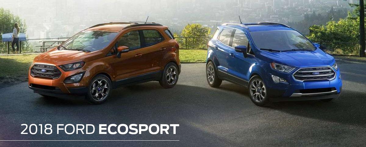 2018 Ford EcoSport Header