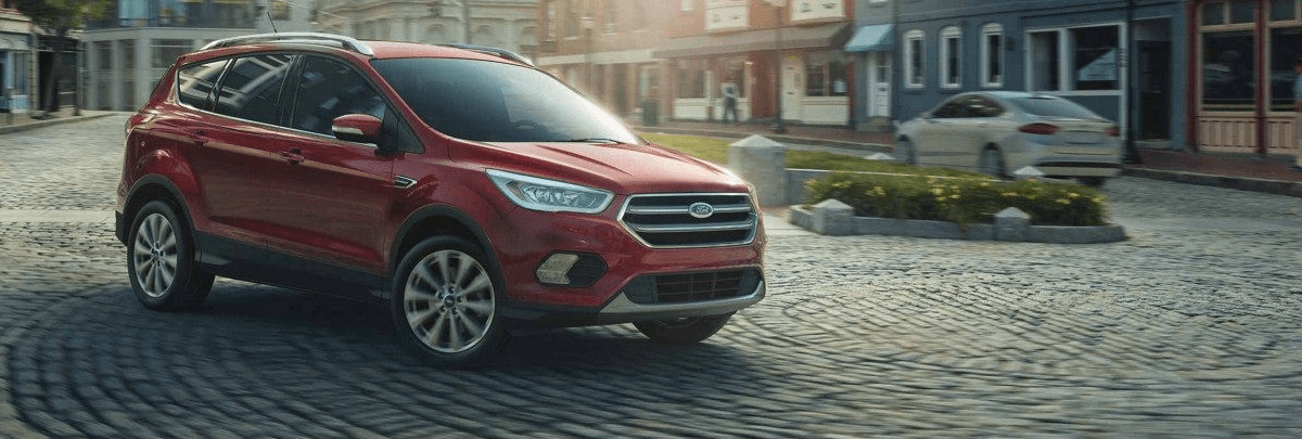 2018 Ford Escape Footer
