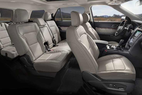 Ford Explorer Interior Features