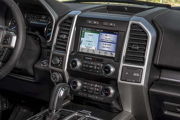2020 Ford F-150 Interior & Technology