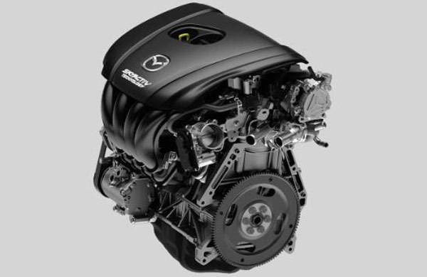 2018 Mazda 3 Sedan engine – SKYACTIV® TECHNOLOGY