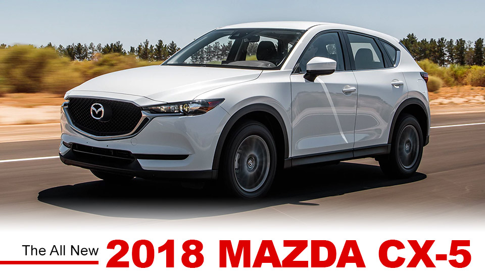 2018 Mazda CX-5 in white front side