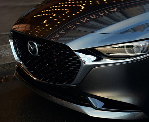 2021 Mazda3 front grille
