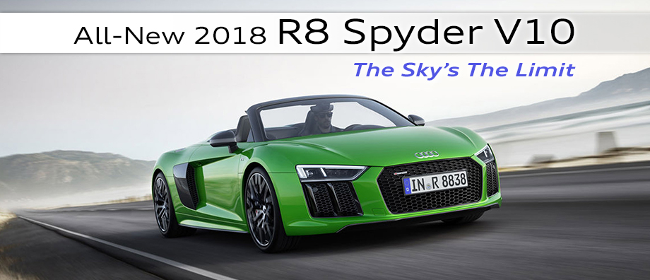 Audi R Spyder V Buy Or Lease An Audi Near Orlando FL - Audi r8 lease