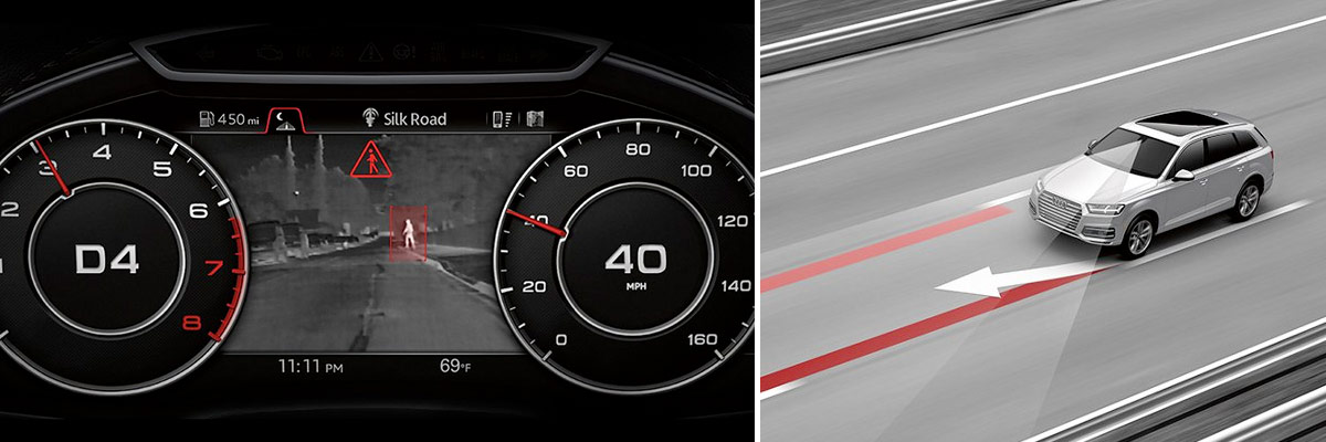 Safety Features in the 2018 Audi Q7