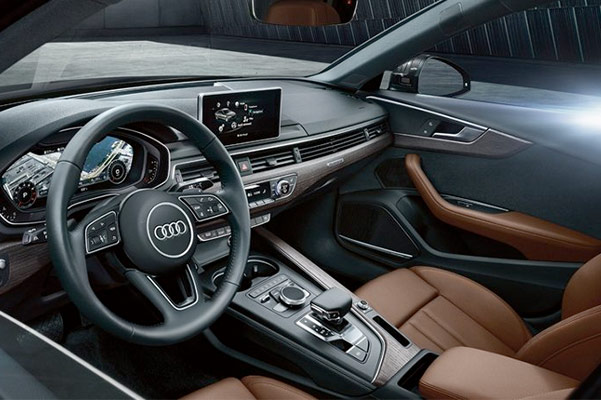 2019 Audi A4 Sedan Interior & Technology