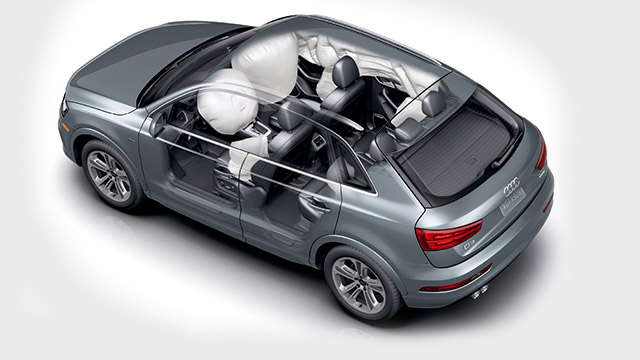 2018 Audi Q3 Safety airbags