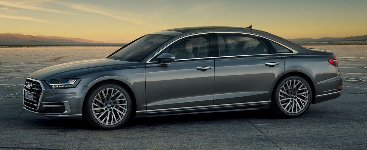 The all-new 2019 Audi A8