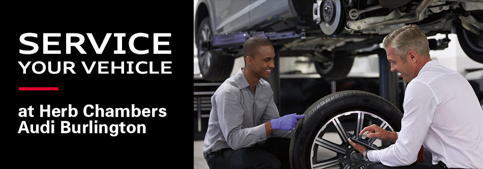 Service your Vehicle at Audi Burlington