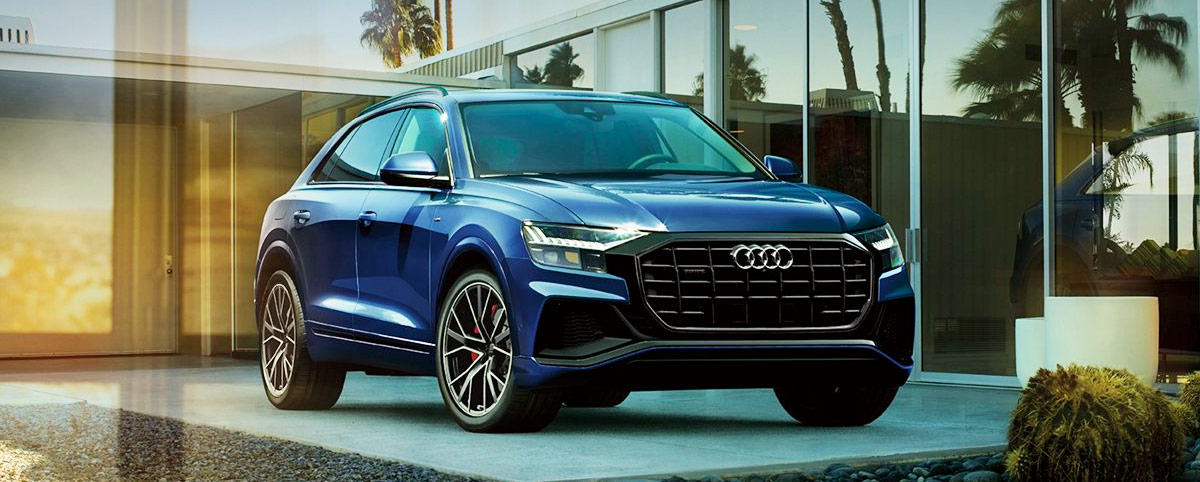 new 2019 audi q8 suv | audi dealership in west chester, pa